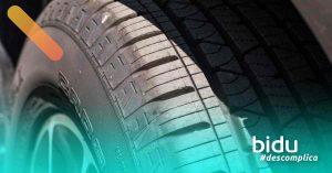 Imagem de pneu para texto sobre controle de tração